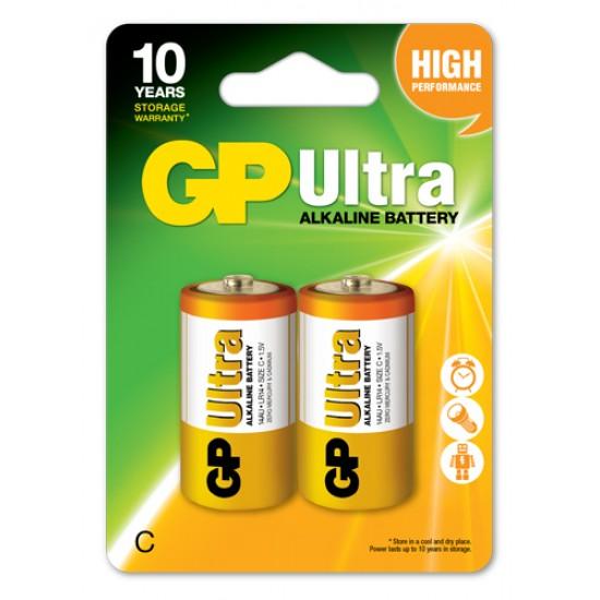 GP Ultra alkaline C - LR14 10 Years Design Life
