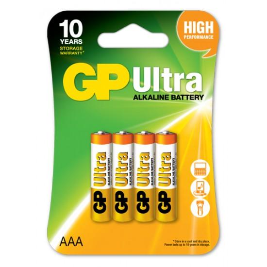 GP Ultra alkaline AAA - LR03 10 Years Design Life