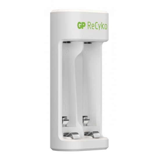 GP Recyko USB charger with 2 batteries AA 2100 mAh 1.2V