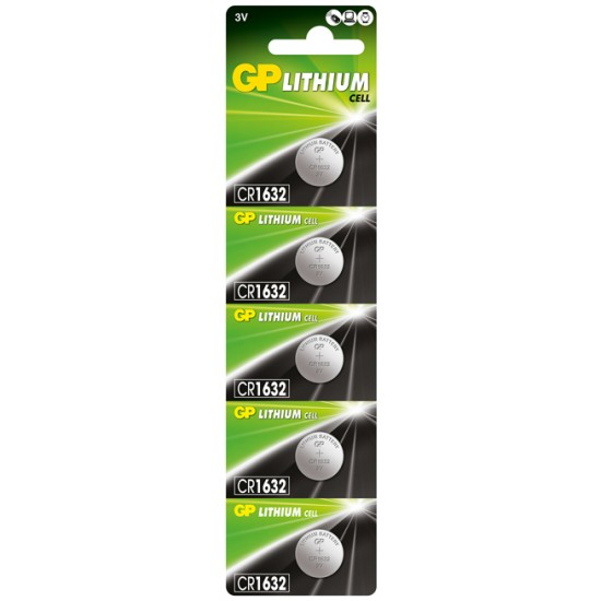 GP CR1632 Lithium button cell 3V 140mAh