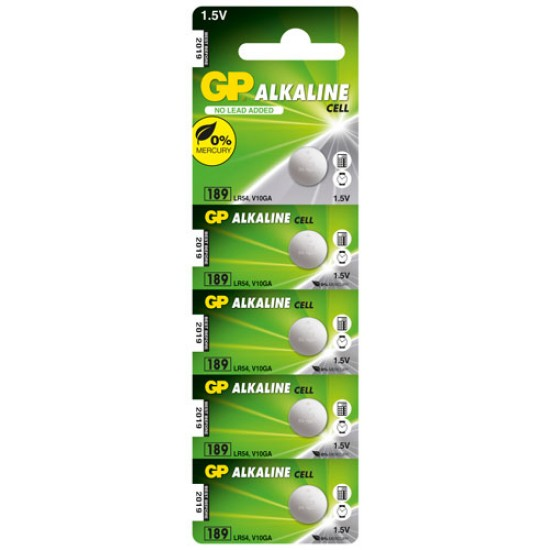 GP 189 alkaline cell 1.5V