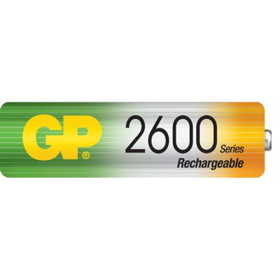 GP rechargeable battery NiMh AA 2700 series 1.2V