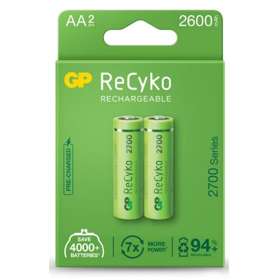 GP Recyko 4xAA 2700 series 1.2V