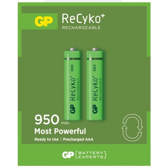 GP Recyko rechargeable battery NiMh AAA 950mAh  1.2V