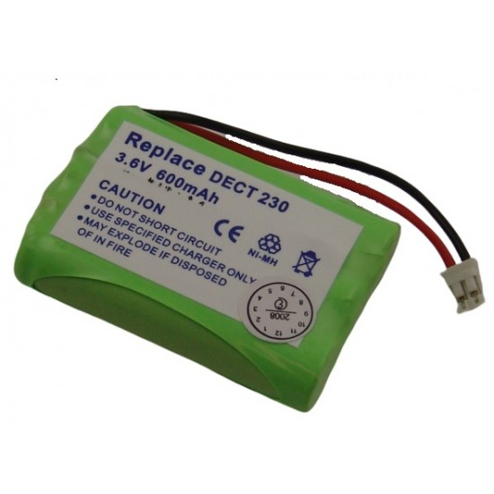 T 357 cordless phone battery NiMh