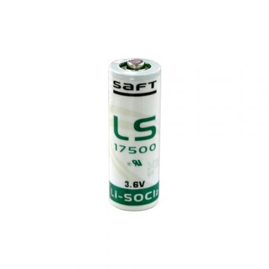 Saft LiSoCl2 battery LS17500 3.6V A size
