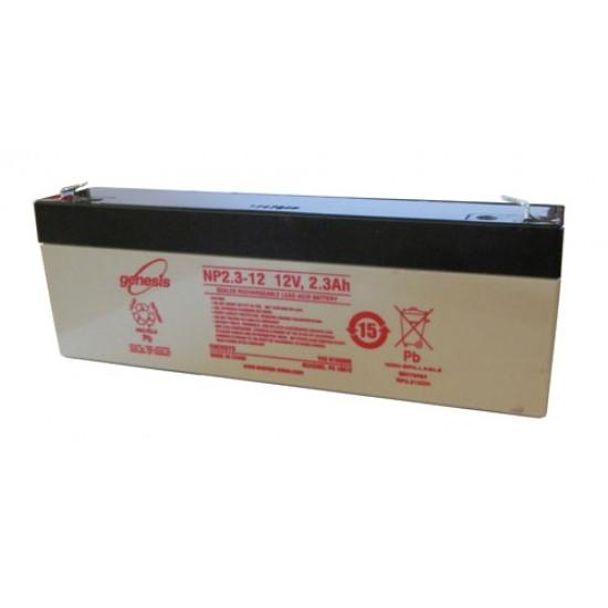 Genesis Lead Acid battery NP 2.3Ah 12V