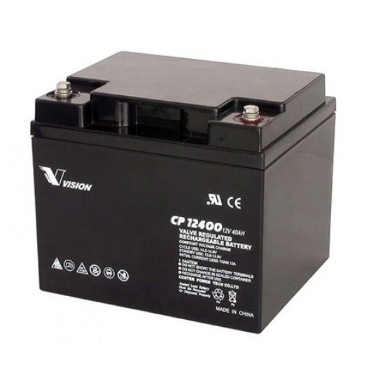 VISION Lead Acid Battery 12V 40Ah for UPS