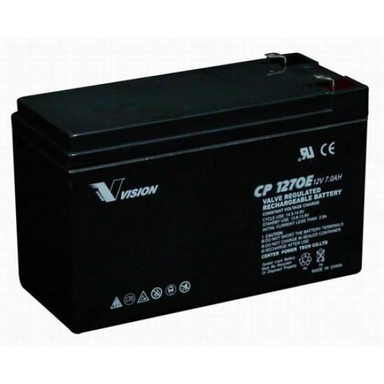 VISION Lead Acid Battery FM 12V 7Ah F2
