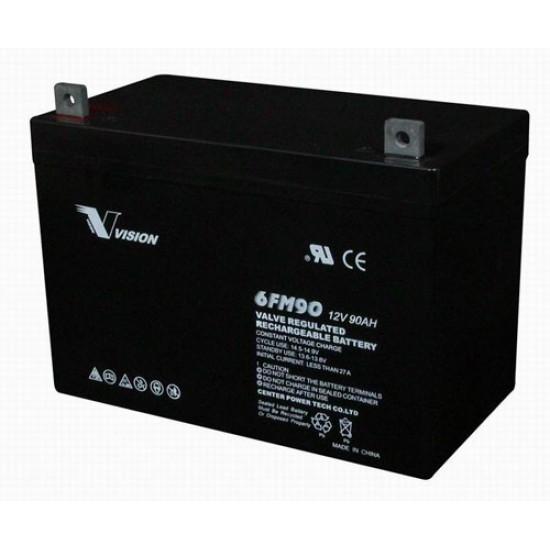 LEOCH  Lead Acid Battery 12V 90Ah for UPS