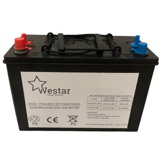 Westar Lead Acid Battery 12V 115Ah