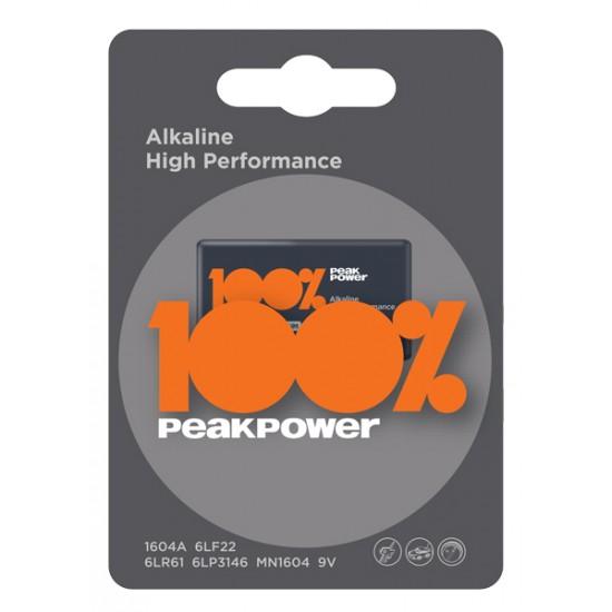Peak Power by GP alkaline 9V - 6LR61