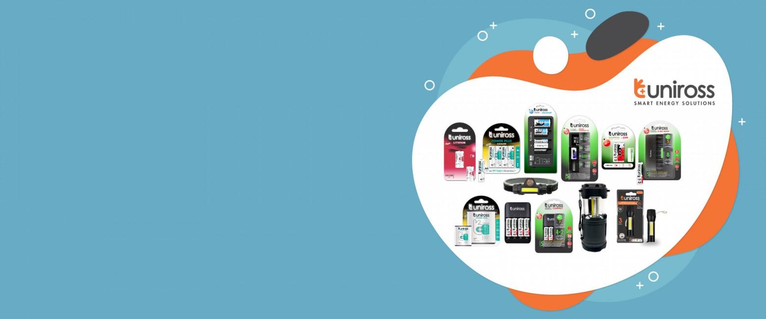 World Class Batteries & Chargers From Uniross