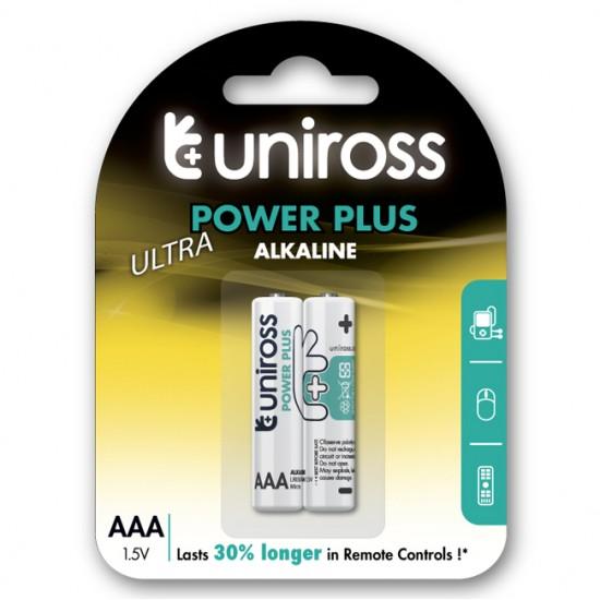 Uniross Power Plus alkaline AAA - LR03