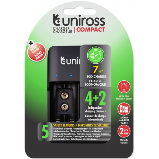 Uniross COMPACT CHARGER